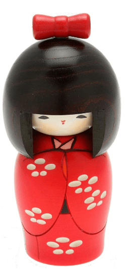 Types of traditional japanese dolls