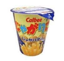 Salty japanese snacks