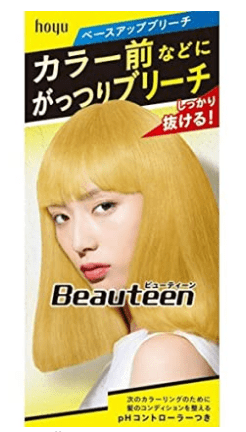 best japanese hair bleach for light hair