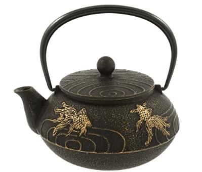 japanese tea set blue